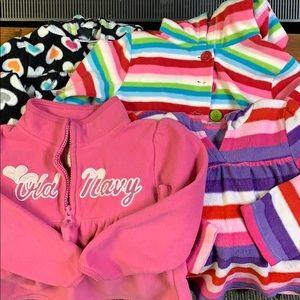 4 fleece hoodies/sweatshirt super soft 4T